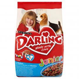 DARLING Junior Csirkével és hozzáadott zöldségekkel száraz kutyaeledel 8kg