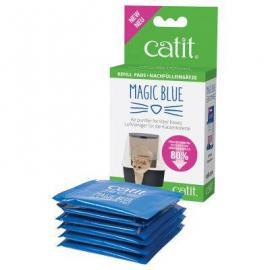 Catit Magic Blue - Légtisztító betét zárt macska wc-be (6db)