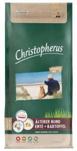Christopherus Dog Adult Grainfree Kacsa és burgonya Small&medium; 12kg