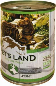 Pet s Land Cat Konzerv Vadashús répával 415g