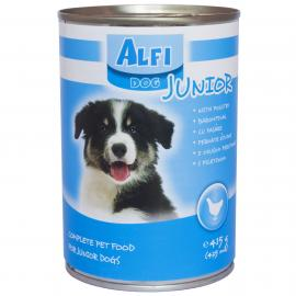 Alfi dog konzerv 415gr junior