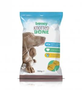 Boney Jutalomfalat Knotted Bone 150g/3db