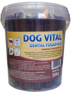 Jutalomfalat Dog Vital Vödrös Marhás 534gr