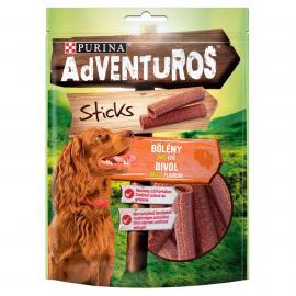 ADVENTUROS Sticks Bölény, vad ízű kutya jutalomfalat 120g