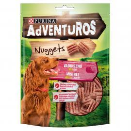 ADVENTUROS Nuggets Vaddisznó, vad ízű kutya jutalomfalat 90g