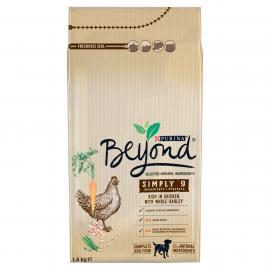 BEYOND Simply 9 Csirkével és teljes kiőrlésű árpával száraz kutyaeledel 1,4kg