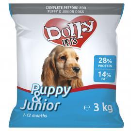Dolly Junior Száraz Kutyaeledel 3kg