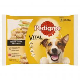 Pedigree Alutasakos 4*100g Pack Adult Csirke&zöldség, Marha&zöldség