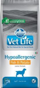Vet Life Dog Hipo Fish & Potato 2kg
