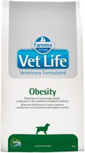 Vet Life Natural Diet Dog Obesity 12kg