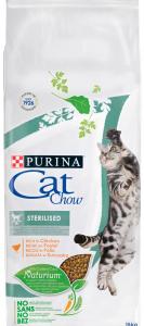 CAT CHOW Sterilised Csirkében gazdag száraz macskaeledel 15kg