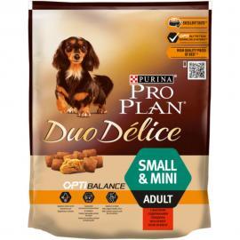 PRO PLAN Small & Mini Adult OPTIBALANCE DUO DÉLICE marhában gazdag száraz kutyaeledel 700g