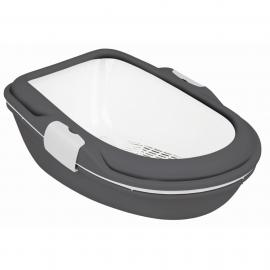Macska WC Berto XL 47×26×69cm szürke