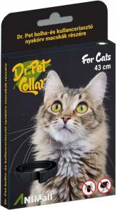 Dr.Pet bolha+kullancsriasztó nyakörv cica dobozos 43cm