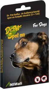 Dr.Pet bolha+kullancsriasztó spot kutya