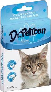 Dr.Peticon bolha+kullancs nyakörv cica dobozos 43cm