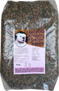 Boldog Bulldog Falatok krokett 10kg bárányos