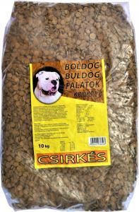 Boldog Bulldog Falatok krokett 10kg csirkés