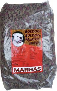 Boldog Bulldog Falatok krokett 10kg marhás
