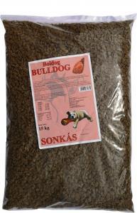 Boldog Bulldog sonkás száraz kutyaeledel 15 kg