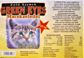 Green Eyes száraz cicaeledel csirkés 20 kg