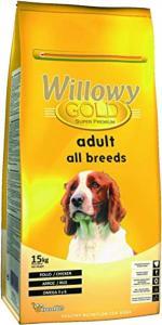 Willowy Gold Adult All Breeds száraz eledel minden fajta kutyának 15 kg