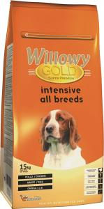 Willowy Gold Intensive All Breeds száraz kutyaeledel 15 kg
