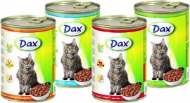 Dax cica konzerv nyúllal 415gr
