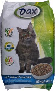 Dax cica száraz eledel halas 10 kg