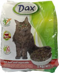 Dax cica száraz eledel marhás 1kg