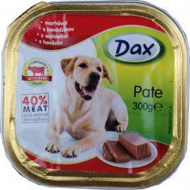 Dax kutya nedves tálcás marhás 300gr