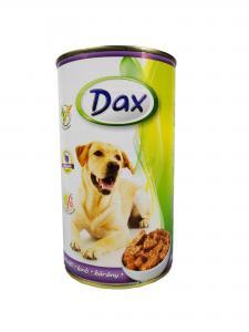 Dax kutya konzerv bárányos 1240gr