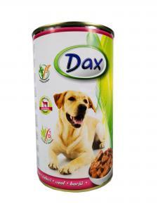 Dax kutya konzerv borjúhúsos 1240gr