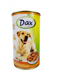 Dax kutya konzerv csirkés 1240gr