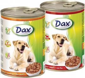 Dax kutya konzerv marhahúsos 1240gr