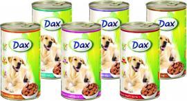 Dax kutya konzerv vadhúsos 1240gr