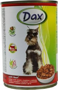 Dax kutya konzerv marhahúsos 415gr