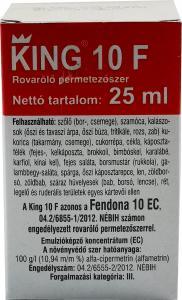 KING 10F 25ml III.