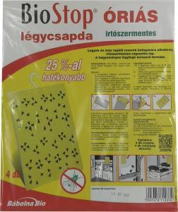 BIOSTOP Plusz Óriás Légycsapda III. 4 darabos