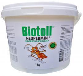 Rovarirtó porozószer BIOTOLL Neopermin 1kg III.