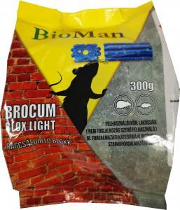 BROCUM rágcsálóirtó blokk 300g