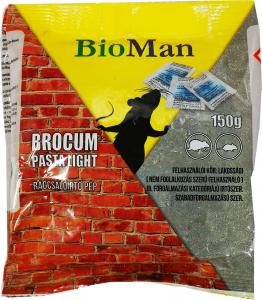 BROCUM rágcsálóirtó pép 150g