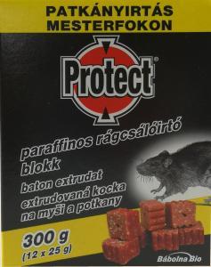 PROTECT Paraffinos rágcs.blokk 300g