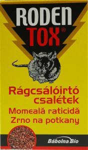 RODENTOX Rágcsálóirtó csalétek (3x50g)