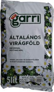 Általános virágföld Garri 5l
