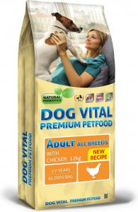 Dog Vital Adult All Breeds Chicken 12kg