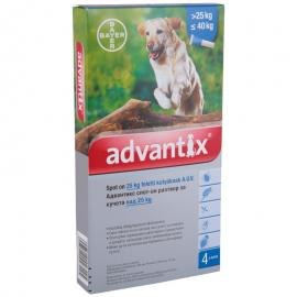 Advantix 400 4 ml 25 kg felett 4x