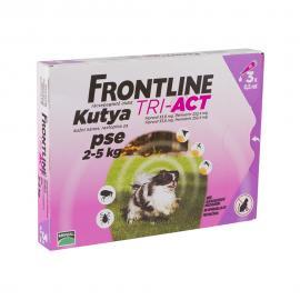 Frontline Tri-Act kutya XS 2-5 kg 3x