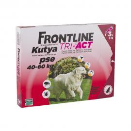 Frontline Tri-Act kutya XL 40-60 kg 3x