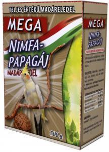 Mega Nimfapapagáj eledel